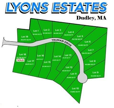 Lot 2 Truman Drive, Dudley, MA 01571 (MLS #72743306) :: Exit Realty