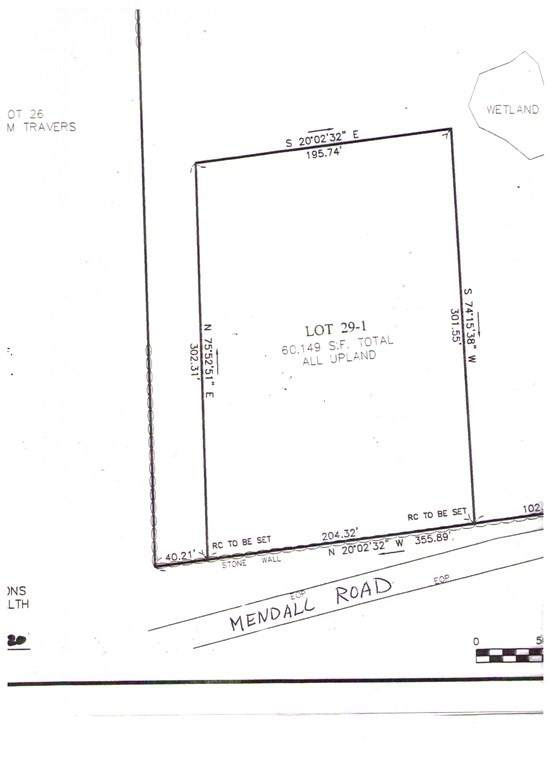 Lot 29-1 Mendall Rd., Acushnet, MA 02743 (MLS #72745653) :: RE/MAX Vantage
