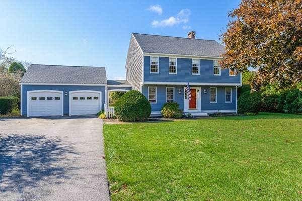 12 Knoll Top Rd, Sandwich, MA 02644 (MLS #72747941) :: Zack Harwood Real Estate | Berkshire Hathaway HomeServices Warren Residential