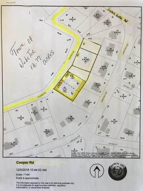 Lot 438 0 Cooper Road, Webster, MA 01570 (MLS #72764036) :: Parrott Realty Group