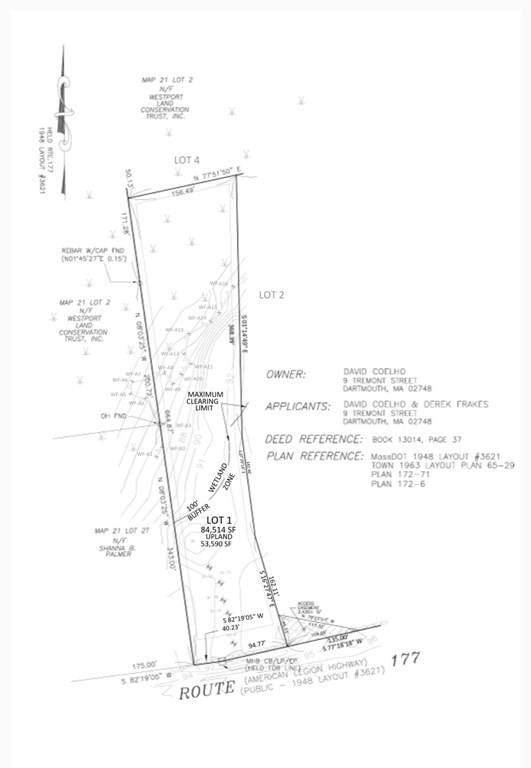 Lot A American Legion, Westport, MA 02790 (MLS #72765896) :: Team Roso-RE/MAX Vantage