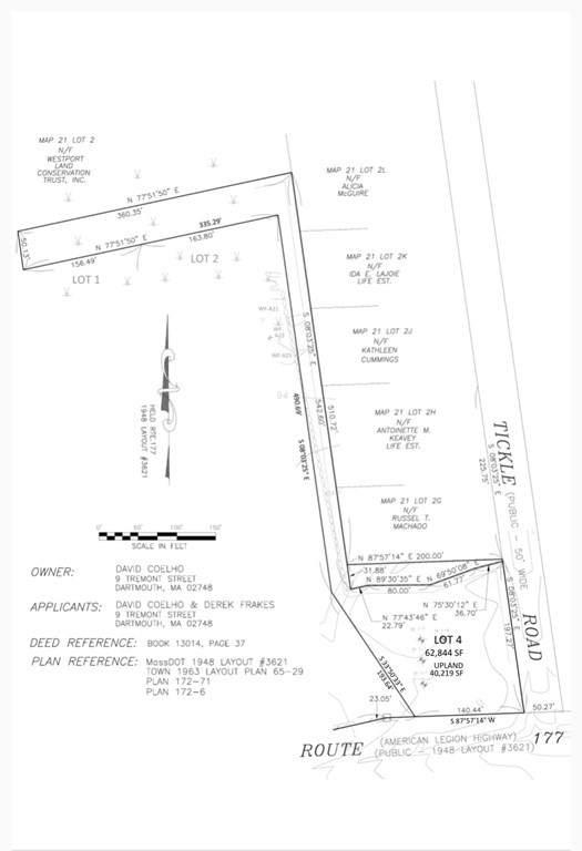 Lot 1 Tickle Rd, Westport, MA 02790 (MLS #72765898) :: Welchman Real Estate Group