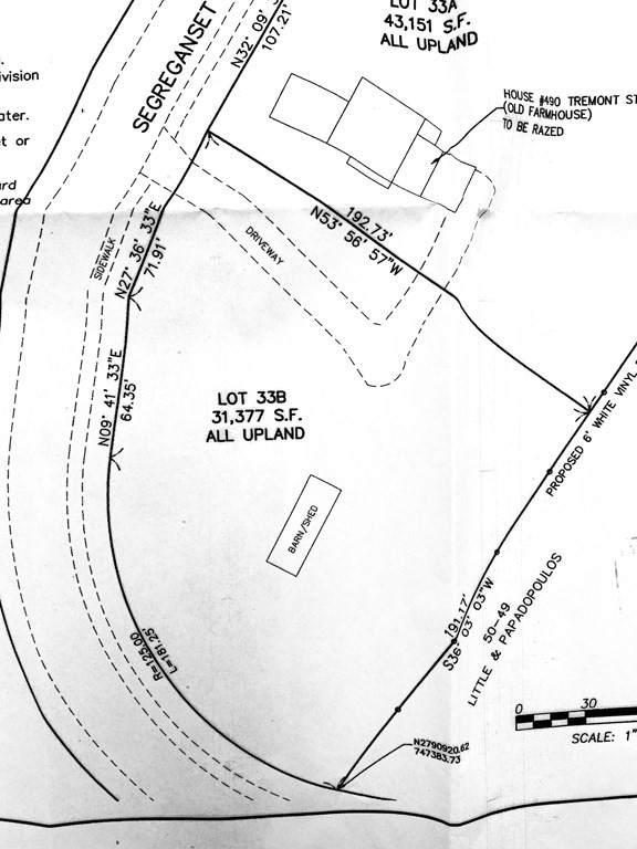 Lot 33B Segreganset Rd., Taunton, MA 02780 (MLS #72774072) :: RE/MAX Vantage