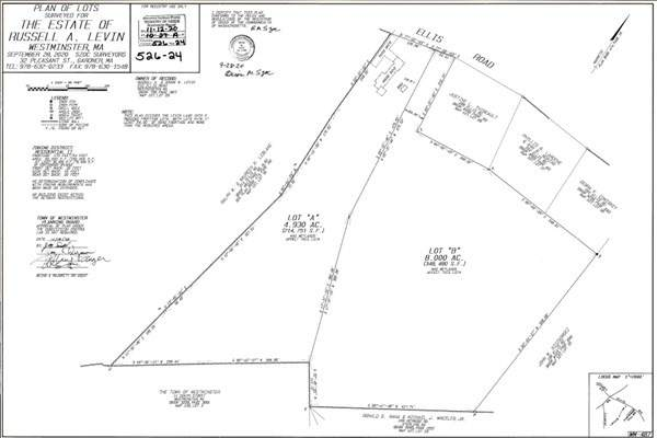 Lot B Ellis Road, Westminster, MA 01473 (MLS #72775640) :: Team Roso-RE/MAX Vantage