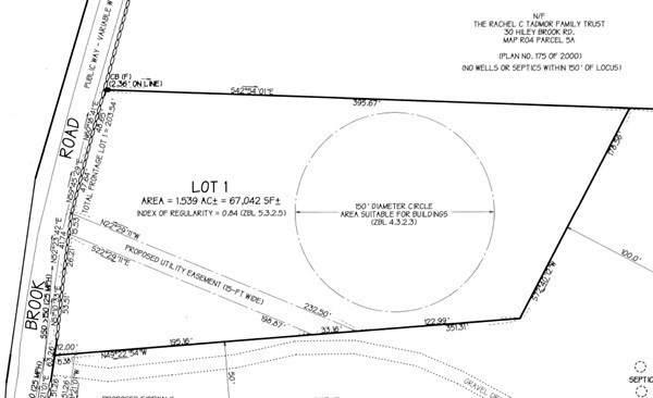 44 Hiley Brook, Stow, MA 01775 (MLS #72812168) :: Cameron Prestige