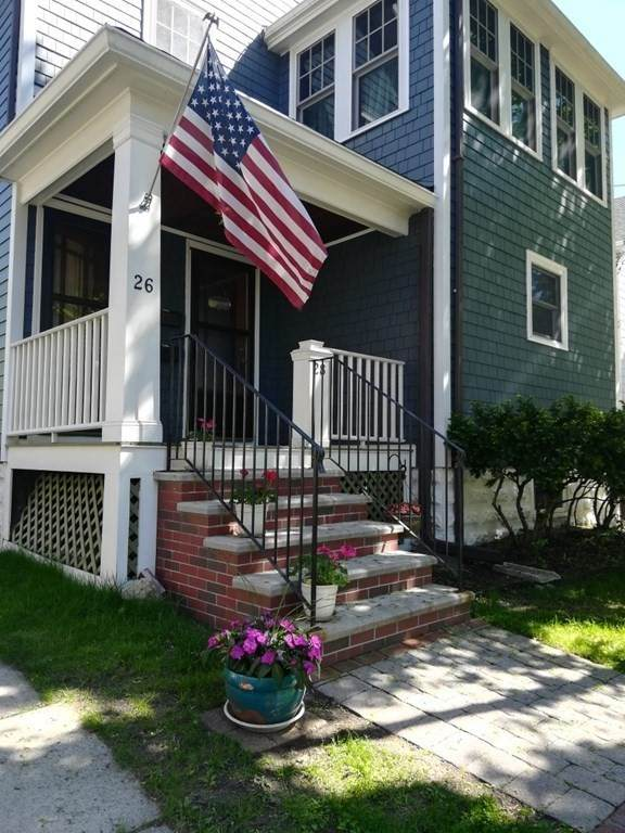 28 Vincent Ave #1, Belmont, MA 02478 (MLS #72828031) :: Westcott Properties