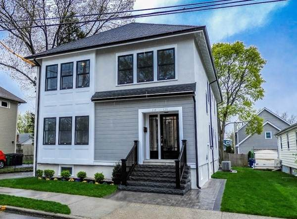 118 &120 Westland Ave, Newton, MA 02465 (MLS #72831285) :: The Gillach Group