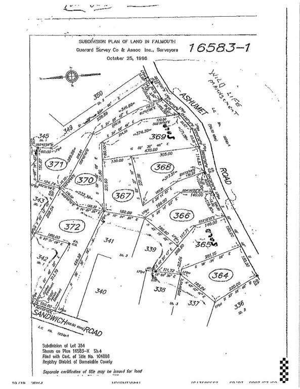 Lot 364 Ashumet Road, Falmouth, MA 02536 (MLS #72836913) :: Home And Key Real Estate