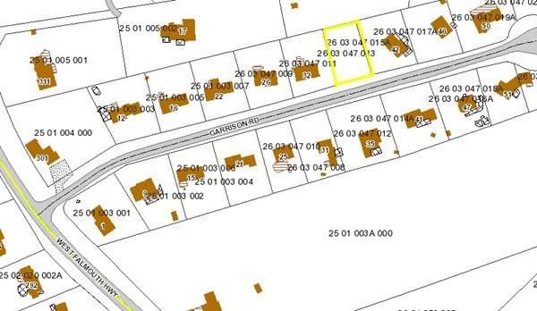 0 Garrison Rd, Falmouth, MA 02540 (MLS #72854207) :: RE/MAX Vantage