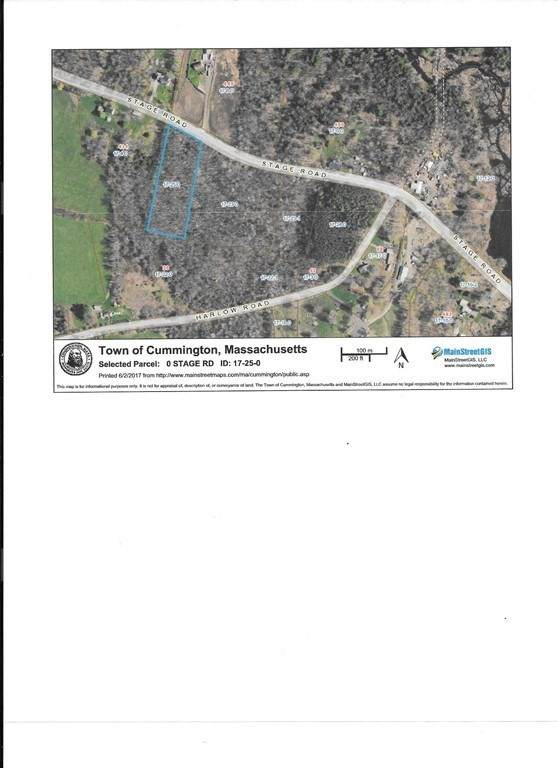 0 Stage Rd, Cummington, MA 01026 (MLS #72895656) :: Alfa Realty Group Inc