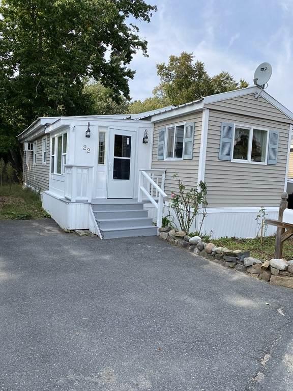466 Newbury St #22, Danvers, MA 01923 (MLS #72895768) :: Conway Cityside