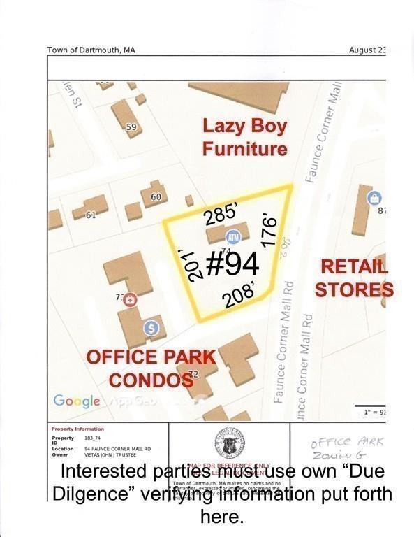 94 Faunce Corner Mall Road, Dartmouth, MA 02747 (MLS #72410532) :: Vanguard Realty