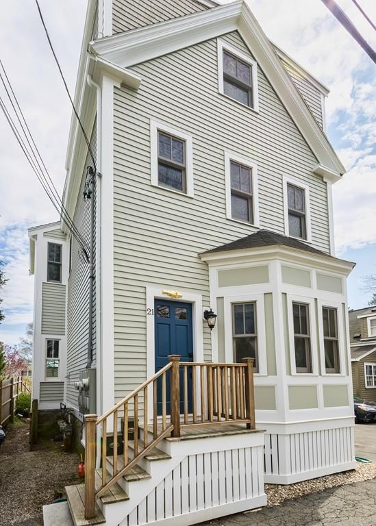 21 Beacon Street #2, Marblehead, MA 01945 (MLS #72499659) :: Exit Realty