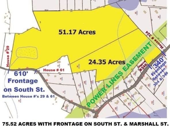 Lot 7&9 South Street, Paxton, MA 01612 (MLS #72888970) :: Cape Cod and Islands Beach Properties