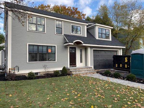105 Fairway Dr, Newton, MA 02465 (MLS #72541370) :: Team Tringali