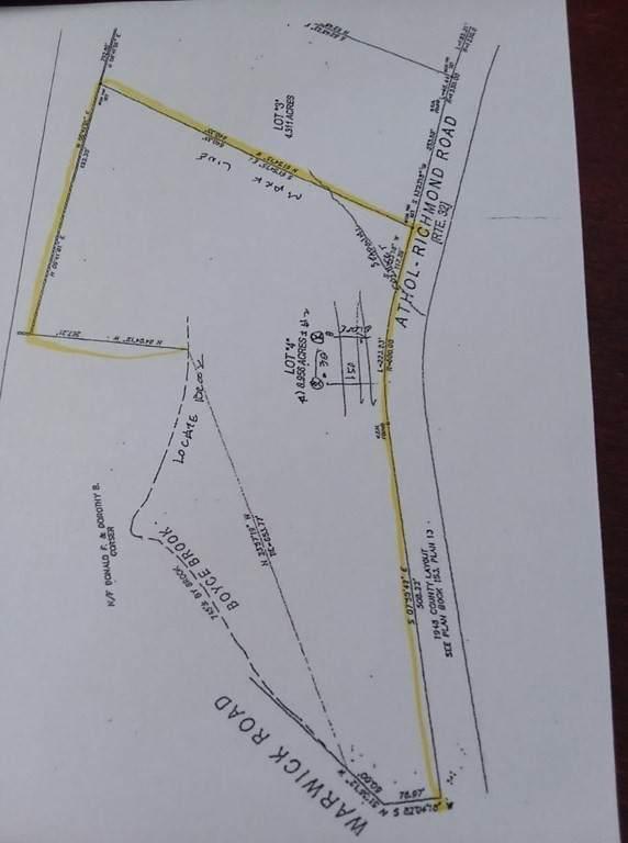 Lot 4 297 Athol Richmond Rd, Royalston, MA 01368 (MLS #72869251) :: RE/MAX Vantage