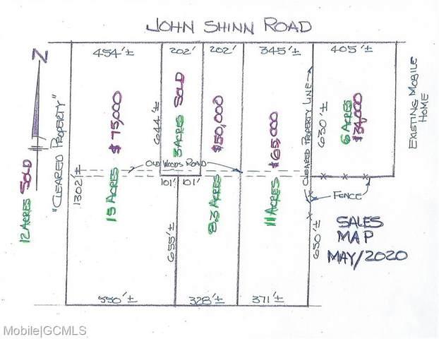 0 John Shinn Road, Chunchula, AL 36521 (MLS #639316) :: Berkshire Hathaway HomeServices - Cooper & Co. Inc., REALTORS®