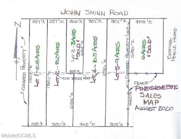 0 John Shinn Road #4, Chunchula, AL 36521 (MLS #643713) :: Elite Real Estate Solutions