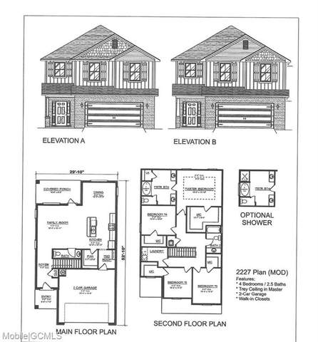 6551 Addison Woods Drive, Mobile, AL 36693 (MLS #643794) :: Mobile Bay Realty