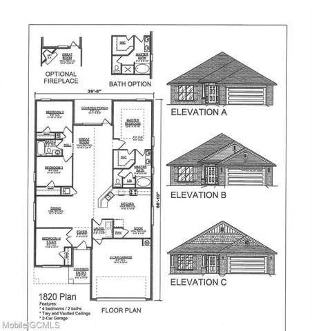 6591 Addison Woods Drive, Mobile, AL 36693 (MLS #643805) :: Mobile Bay Realty