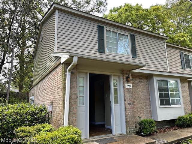 6701 Dickens Ferry Road #20, Mobile, AL 36695 (MLS #650938) :: Elite Real Estate Solutions