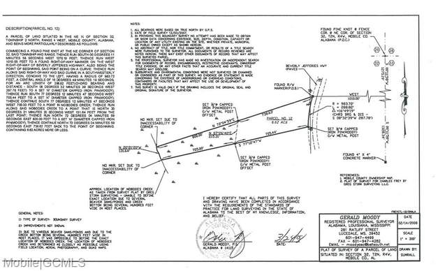 0 Beverly Jefferies Highway #12, Citronelle, AL 36522 (MLS #653469) :: Elite Real Estate Solutions