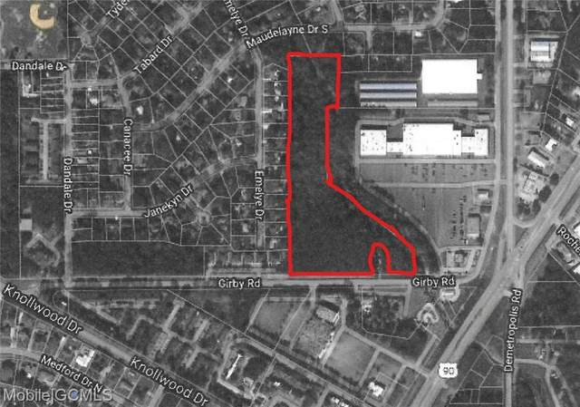 0 Girby Road, Mobile, AL 36693 (MLS #654749) :: Berkshire Hathaway HomeServices - Cooper & Co. Inc., REALTORS®