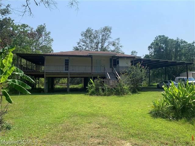 8421 Bayou Drive, Bayou La Batre, AL 36509 (MLS #655327) :: Elite Real Estate Solutions