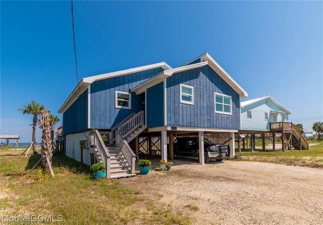 2302 Island Shores Drive, Dauphin Island, AL 36528 (MLS #657592) :: Mobile Bay Realty