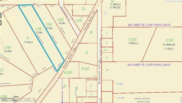 0 County Road 138, Bay Minette, AL 36507 (MLS #623518) :: Elite Real Estate Solutions