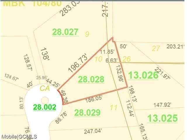0 Stonebridge Court #10, Mobile, AL 36695 (MLS #643700) :: Berkshire Hathaway HomeServices - Cooper & Co. Inc., REALTORS®