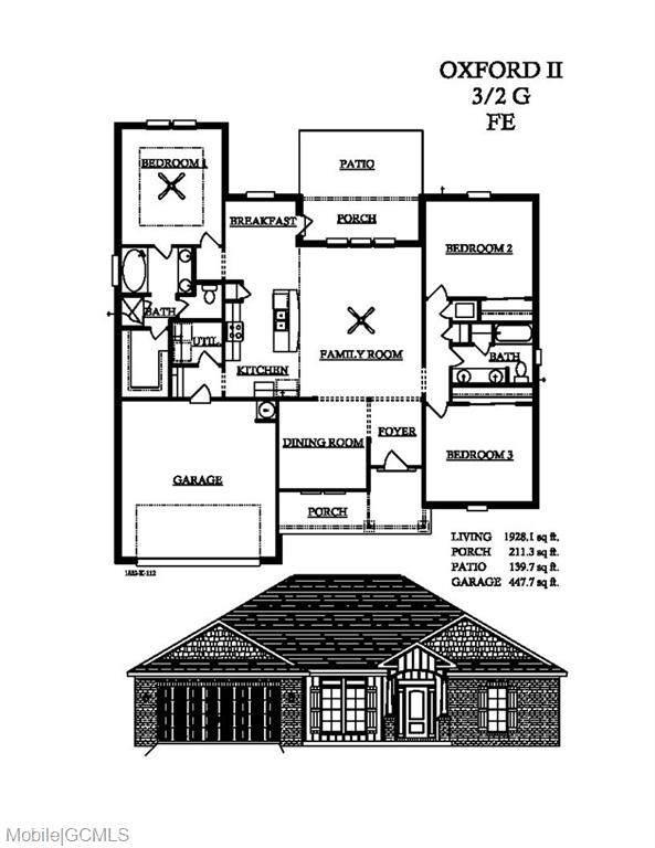 572 Begeman Road, Mobile, AL 36608 (MLS #647836) :: Berkshire Hathaway HomeServices - Cooper & Co. Inc., REALTORS®