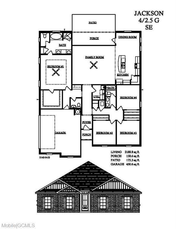 9775 Maxwell Run, Mobile, AL 36608 (MLS #647841) :: Berkshire Hathaway HomeServices - Cooper & Co. Inc., REALTORS®