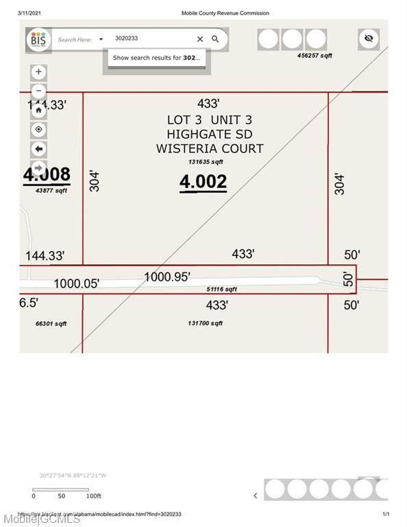 0 Wisteria Court #3, Irvington, AL 36544 (MLS #649897) :: Mobile Bay Realty