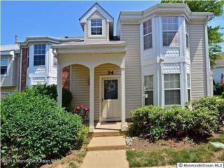 34 Tulip Lane, Freehold, NJ 07728 (MLS #21707953) :: The Dekanski Home Selling Team