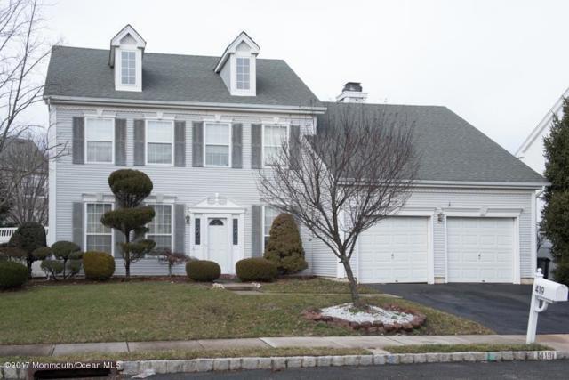 419 Perry Street, Morganville, NJ 07751 (MLS #21701456) :: The Dekanski Home Selling Team