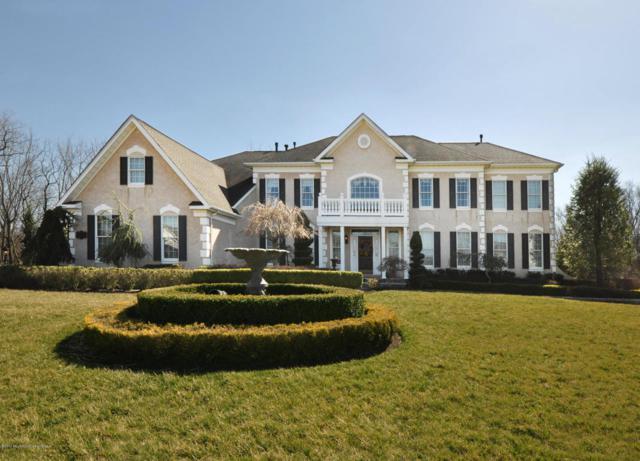 814 Dancer Lane, Manalapan, NJ 07726 (MLS #21710311) :: The Dekanski Home Selling Team