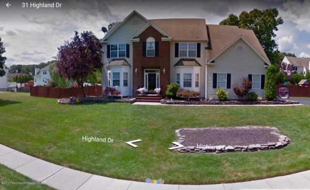 31 Highland Drive, Jackson, NJ 08527 (MLS #21710572) :: The Dekanski Home Selling Team
