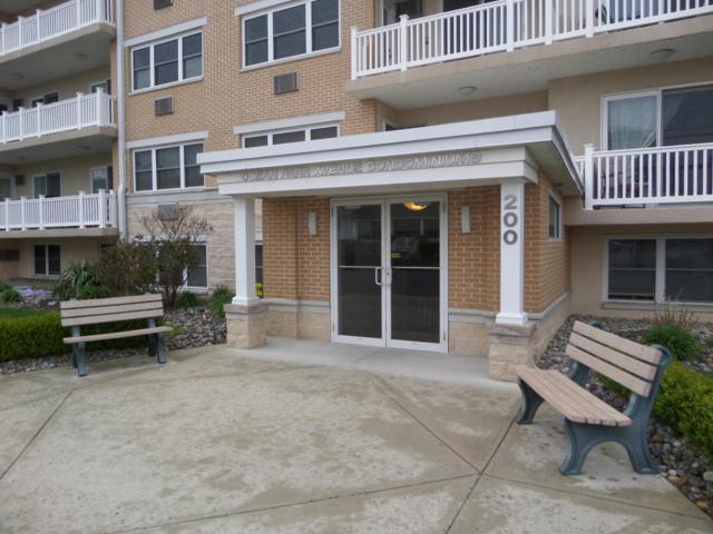 200 Ocean Park Avenue 3I, Bradley Beach, NJ 07720 (MLS #21714632) :: The Dekanski Home Selling Team