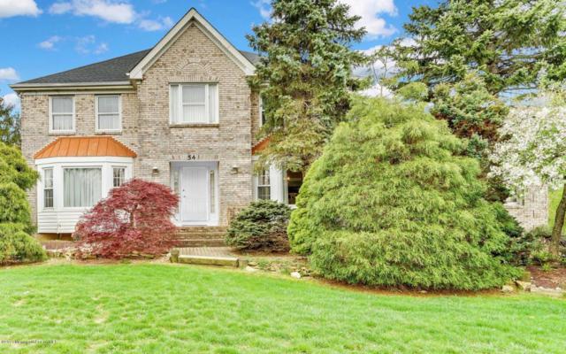 54 Stony Hill Drive, Morganville, NJ 07751 (MLS #21715569) :: The Dekanski Home Selling Team
