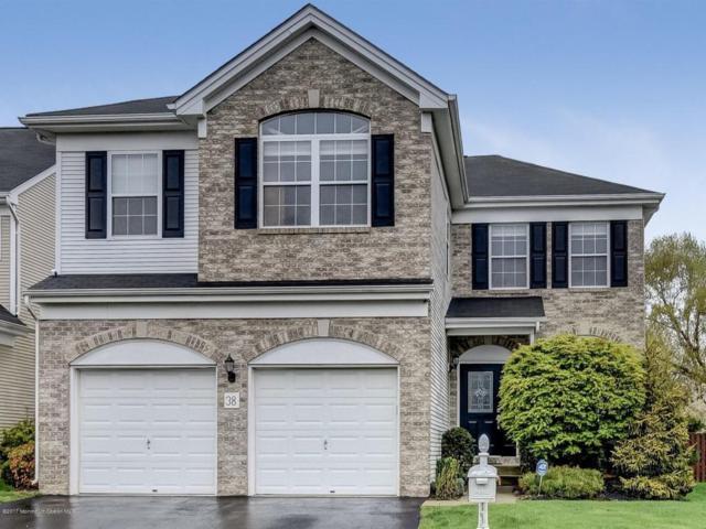 38 Turnberry Drive, Manalapan, NJ 07726 (MLS #21716008) :: The Dekanski Home Selling Team