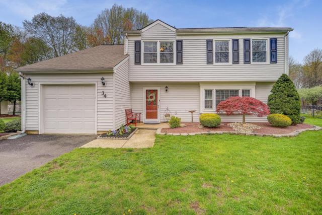 34 Devon Drive, Manalapan, NJ 07726 (MLS #21716903) :: The Dekanski Home Selling Team