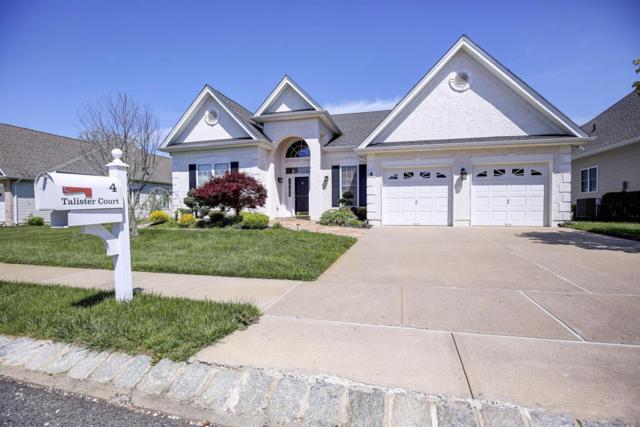 4 Talister Court, Freehold, NJ 07728 (MLS #21717449) :: The Dekanski Home Selling Team