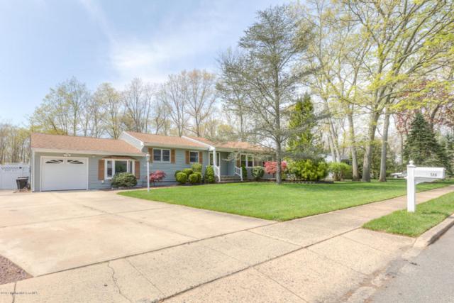 546 Westwood Drive, Lanoka Harbor, NJ 08734 (MLS #21717457) :: The Dekanski Home Selling Team