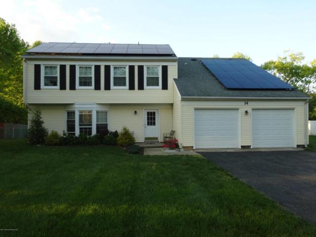 14 Devon Drive, Manalapan, NJ 07726 (MLS #21718023) :: The Dekanski Home Selling Team