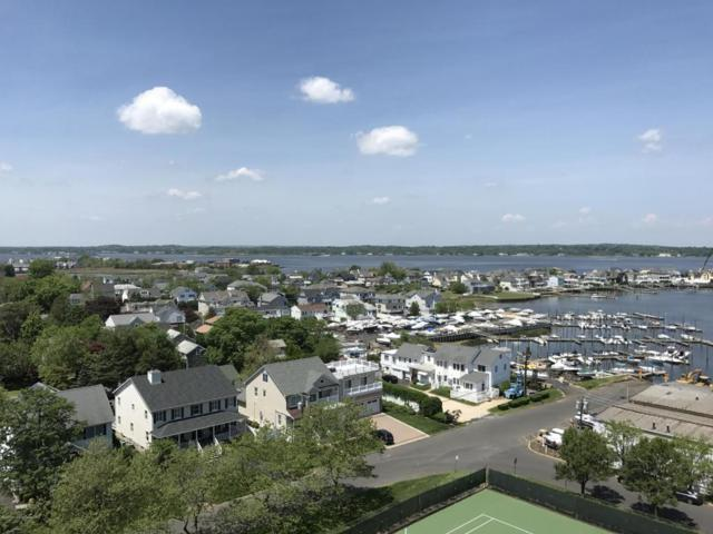 1 Channel Drive #1104, Monmouth Beach, NJ 07750 (MLS #21720092) :: The Dekanski Home Selling Team