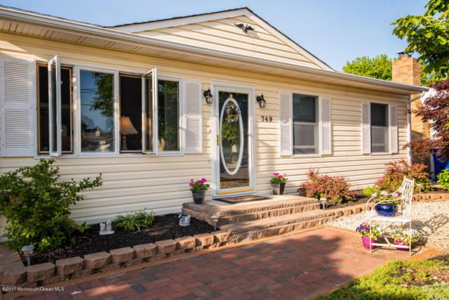 749 Tunney Point Drive, Toms River, NJ 08753 (MLS #21720406) :: The Dekanski Home Selling Team