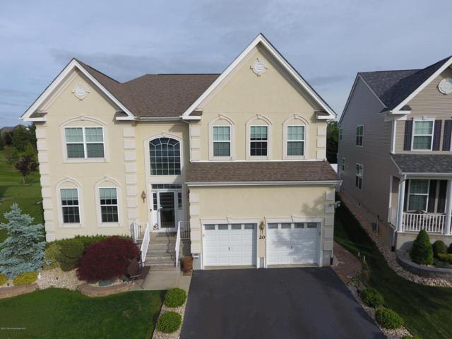 20 Mulberry Drive, Manalapan, NJ 07726 (MLS #21720448) :: The Dekanski Home Selling Team