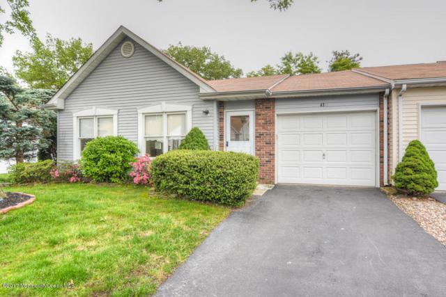 43 Buttonwood Court #1000, Lakewood, NJ 08701 (MLS #21722448) :: The Dekanski Home Selling Team