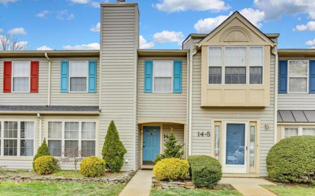 14 Stuart Drive #4, Freehold, NJ 07728 (MLS #21723700) :: The Dekanski Home Selling Team